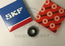 SKF/FAG QJ207 MPA Single Row Angular Contact Bearing